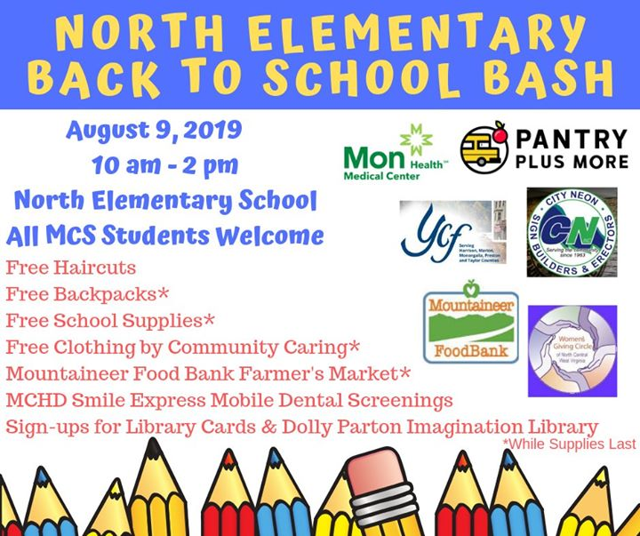 North Back to School Bash | Pantry Plus More